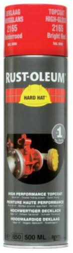 Rust-Oleum 2165 Deklaag Helder rood RAL 3000 500 ml