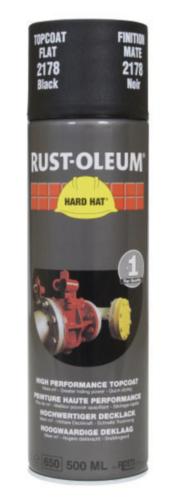 Rust-Oleum 2178 Deklaag Mat zwart 500 ml