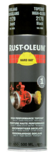 Rust-Oleum 2179 Topcoat Fekete RAL 9005 500 ml
