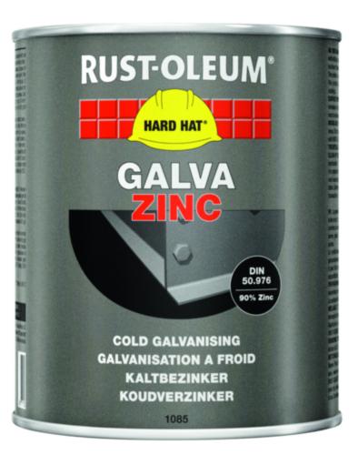 Rust-Oleum 1085 Revestimiento de zinc 362 Mate Gris