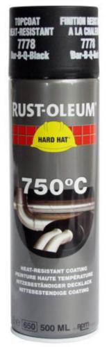 Rust-Oleum 7778 Topcoat 500 Schwarz