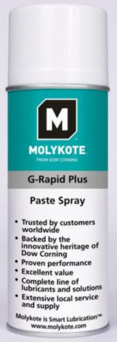 Molykote Pasta lubrificante G-Rapid plus 400 ml