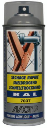 Motip 07024 Lacquer spray Fabric grey RAL 7037 400 ml