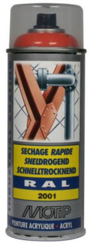Motip 07081 Lakspray Oranje-Rood RAL 2001 400 ml