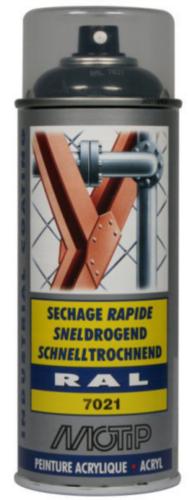Motip 07149 Spray de barniz 400 Negro/Gris