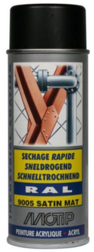 Motip 07164 Lacquer spray 400 Noir profond