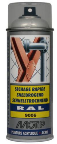 Motip 07224 Spray de barniz 400 Plata
