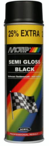 Motip Lacquer spray Noir 500 ml