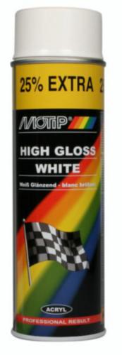 Motip Spray de verniz Branco 500 ml