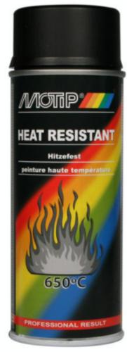 Motip Peinture haute-température Noir 400 ml