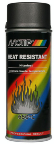 Motip Peinture haute-température Gris anthracite 400 ml