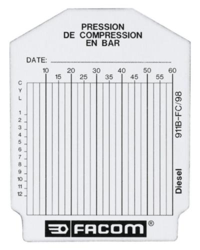 FAC SET 100 TEST CARDS 911B.FC
