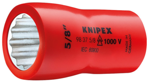 KNIP HEXAGON SOCKET WRENCHES, 3/8 147 MM