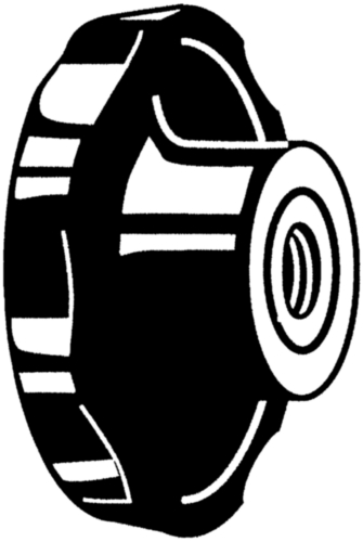 Disc knobs