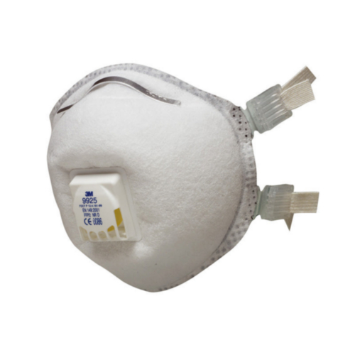 3M Disposable respirators with valve 9925