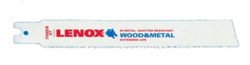 Lenox Sabre sawblade 708ER200X25X1.6