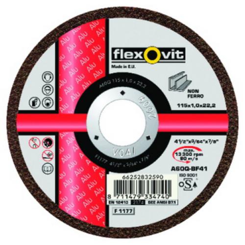 Flexovit Disc de tăiere A46Q 180X1,6X22,23