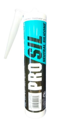 Silliconen afdichtingsmiddel Pro Sil Neutral Transparant 280