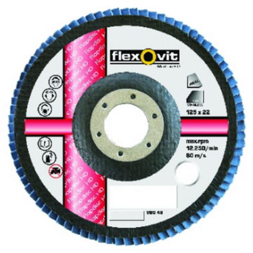 Flexovit Flap disc 115X22 RV75X P40