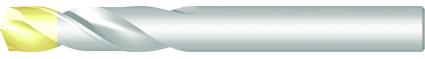 Dormer vřetenové vrtáky A022 DIN ≈1897 HSS Blanc/TiN 8.30mm