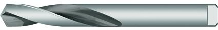 Dormer Broca A124 DIN 8037 HSS Blanco Revenida a Vapor 4.50mm