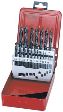 Dormer Spiraalboor set A190 DIN 338 HSS Vaporised A100x26