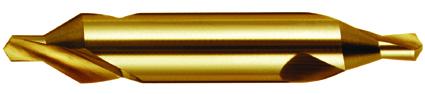 Dormer Center drill A205 DIN 333 A HSS TiN 1.00x3.15mm