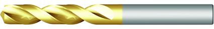 Dormer Valcový vrták A520 DIN 1897 HSS TiN 10.50mm