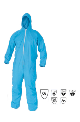 Kleenguard Disposable coverall A65 with hood 99780 Blue 3XL