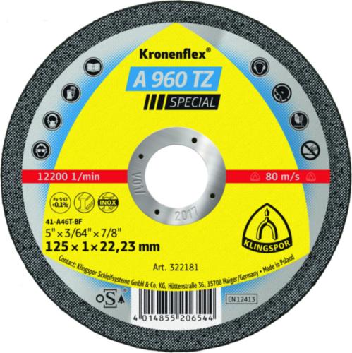 Klingspor Cutting wheel 115X1X22,23