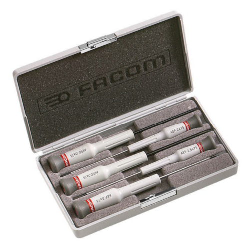 FAC SCREWDRIVER SET AEF.J5 5 PC