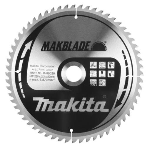Makita Circular saw blade 216X30X2,1 60T