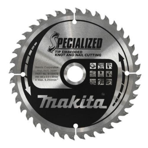Makita Circular saw blade 210X30X1,9 18T 25G