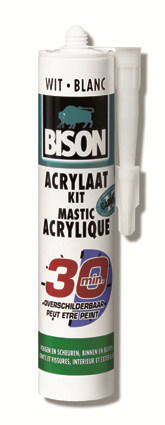Bison Acrylaatkit/afdichtingskit 310 ml