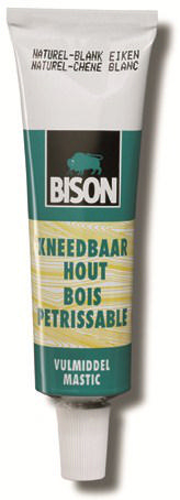 Bison Kneedbaar hout 50 ml