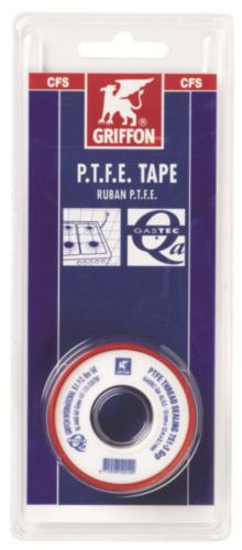 Griffon Teflon tape White 234132 ROLL 12M 0,1
