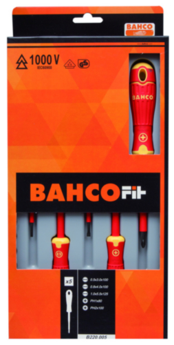 Bahco Screwdriver sets B220.05