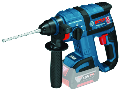 Bosch Cordless Rotary hammer GBH 18V-EC SOLO L-BX (without battery/charger)