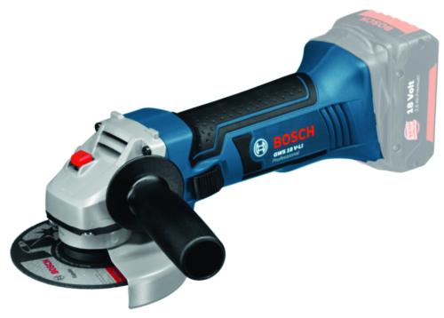 Bosch Accu Haakse slijper GWS 18-125VLI S+L-BX (zonder accu/lader