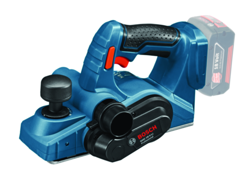 Bosch Cordless Planer GHO 18V-LI SOLO L-BX (without battery/charger)