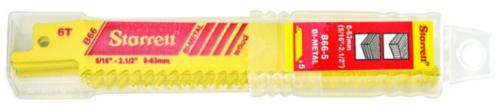 Starrett Jigsaw blade set 152X19X0.90MM