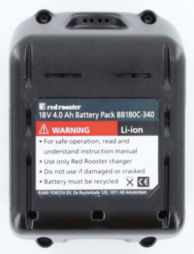 RR 18V 4.0AH BATTERY LI-ION