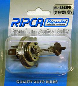 RIPC-1PC-BL12342 LAMP 12V 60/55W H4
