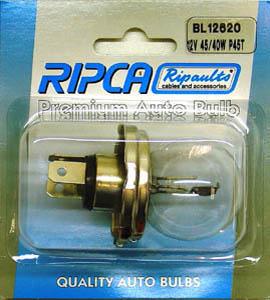 RIPC-1PC-BL12620 LAMP 12V 45/40W P45T