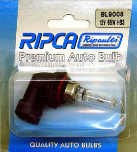 RIPC-1PC-BL9005 LAMP 12V 60W HB3 9005
