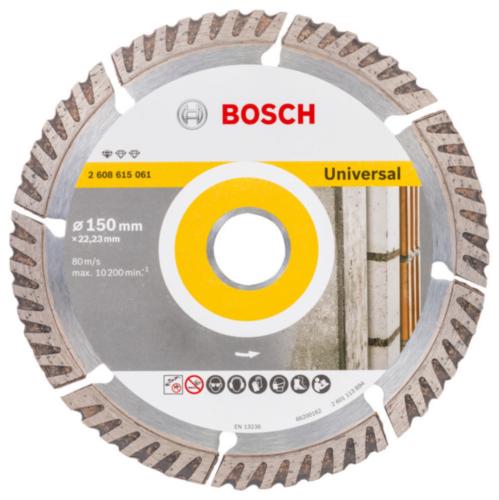 Bosch Disco de corte 150X22,23X2X10MM