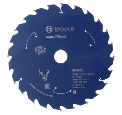 Bosch Hoja de sierra circular 184X20X1.6/1X48T