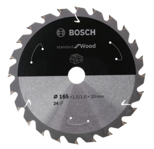 Bosch Hoja de sierra circular X1.5/1.0X24T