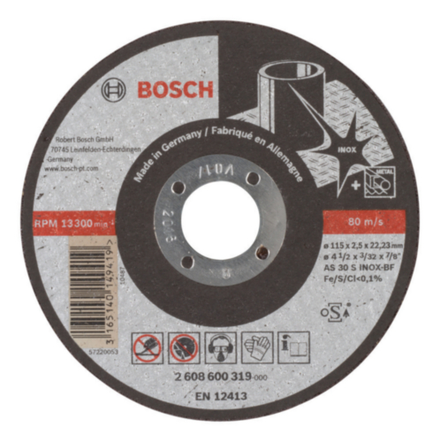 Bosch Disco de corte AS 30 S BF 115MM