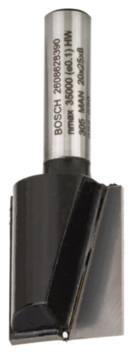 Bosch Schaftfräser VINGER HM 20X25/8MM